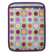 Gerbera Daisy Pattern Sleeve For iPads