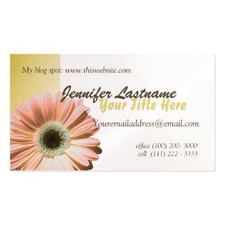 Gerbera Daisy Personal Business Card
