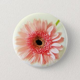 Gerbera Daisy Pinback Button