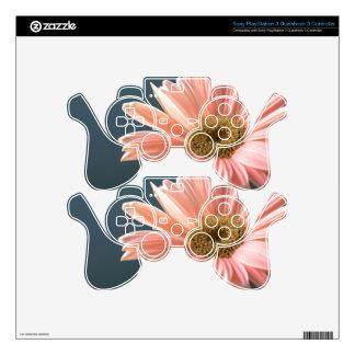 gerbera-daisy PS3 controller skins