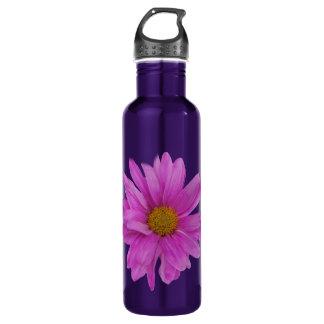 Gerbera Daisy Stainless Steel Water Bottle