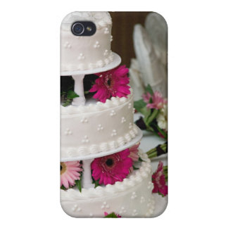 Gerbera Daisy Wedding Cake iPhone 4/4S Cover