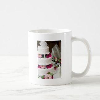 Gerbera Daisy Wedding Cake Classic White Coffee Mug