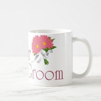 Gerbera Daisy Wedding Classic White Coffee Mug