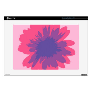 "Gerbera Flower 15"" Laptop Skins"