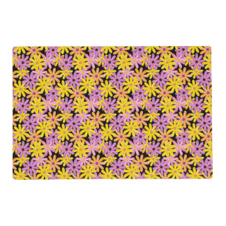 Gerbera flowers pattern, background placemat