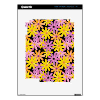 Gerbera flowers pattern, background skins for iPad 3