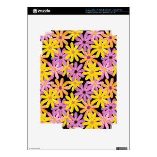 Gerbera flowers pattern, background skins for iPad 3