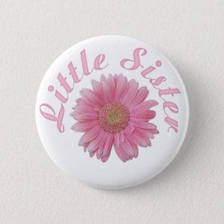 Gerbera Little Sister Pinback Button