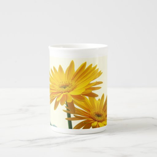 gerbera tea cup