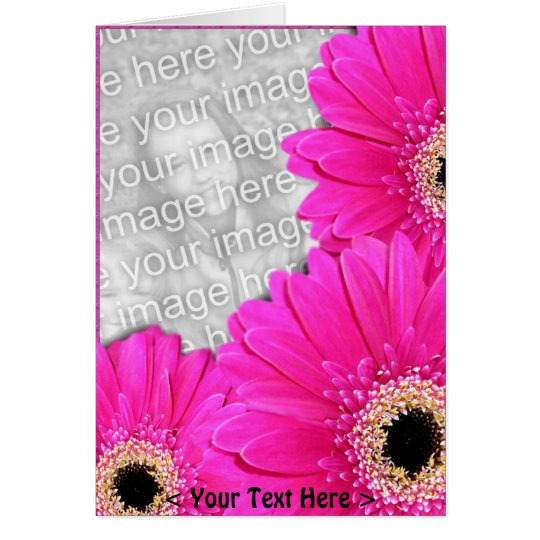 Gerberas Greetings Card