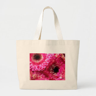 Gerberas rosados bolsa de mano