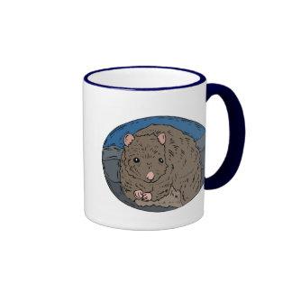 Gerbil 2 ringer coffee mug