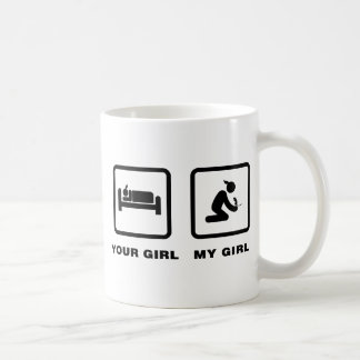 Gerbil Lover Classic White Coffee Mug