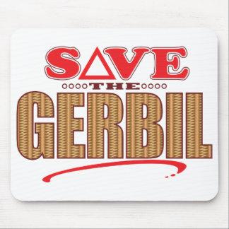 Gerbil Save Mouse Pad