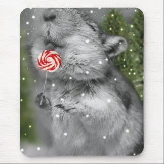 Gerbil's Christmas Dream Mouse Pad