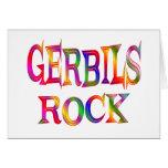 Gerbils Rock Card