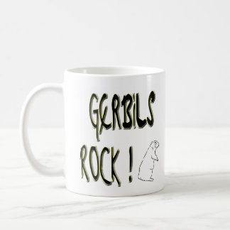 Gerbils Rock! Mug