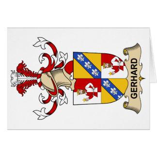 Gerhard Family Crest Card