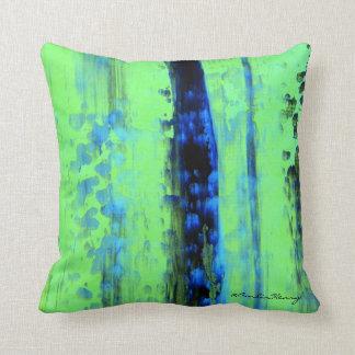 Gerhard Richter Inspired Urban Rain Pillows