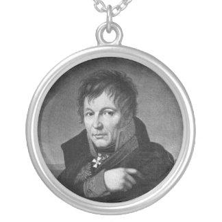 Gerhard von Scharnhorst Round Pendant Necklace