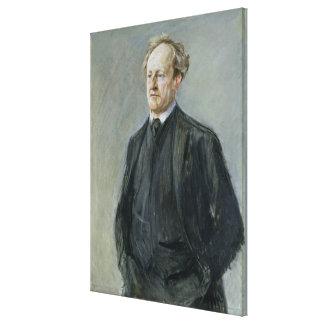 Gerhart Hauptmann, 1912 Impresiones En Lona Estiradas