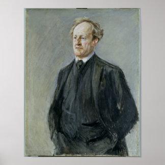 Gerhart Hauptmann 1912 Poster