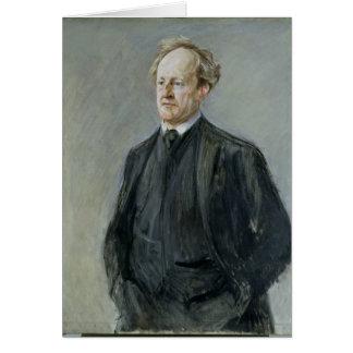 Gerhart Hauptmann, 1912 Tarjeta De Felicitación