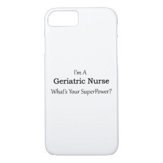 Geriatric Nurse iPhone 7 Case
