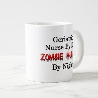 Geriatric Nurse/Zombie Hunter Large Coffee Mug