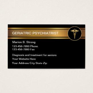 Geriatric Psychologist Business Cards