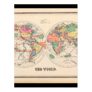 Geriatric World Map 20_Maps of Antiquity Postcard