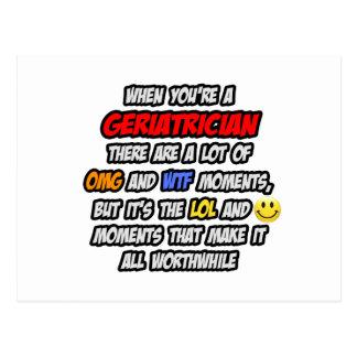 Geriatrician .. OMG WTF LOL Postcard