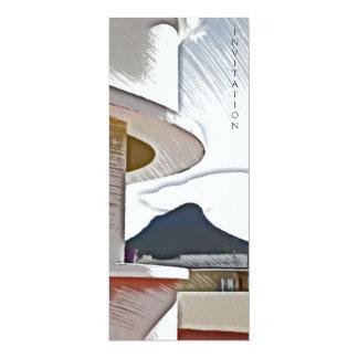 Geriva Mansions, Cape Town 4x9.25 Paper Invitation Card