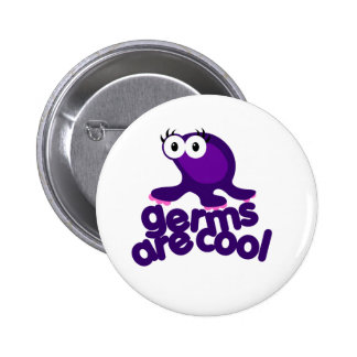 Germ are Cool Pinback Button