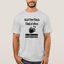 Germ Awareness Men's Basic T-Shirt