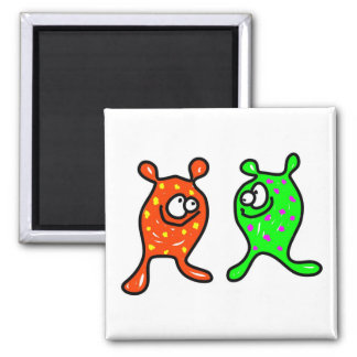Germ Buddies 2 Inch Square Magnet
