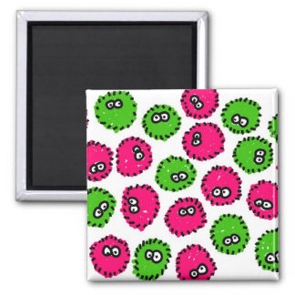 Germ Invasion 2 Inch Square Magnet