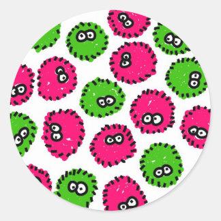 Germ Invasion Stickers