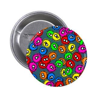 Germ Wallpaper Pinback Buttons
