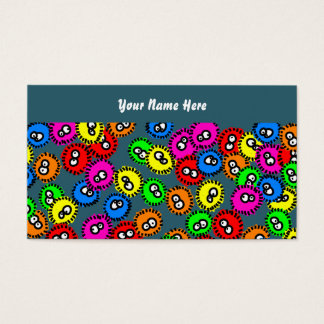 Germ Wallpaper, Your Name Here Business Card