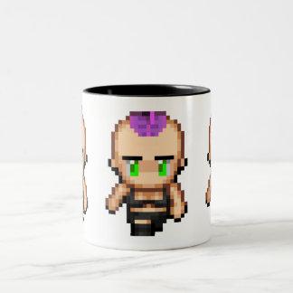 Germaine (In Bits) Purple Mug