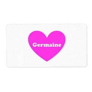 Germaine Label