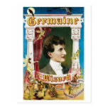 Germaine The Wizard ~ Magician Vintage Magic Act Post Cards