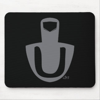 Germaine's Middle Finger Logo Mousepad