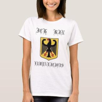 german 1, ICH      BIN, LUMPALICIOUS T-Shirt