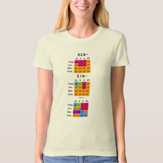 German Adjective Endings T-Shirt