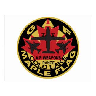 German air force JG71 JG74 Maple Flag Cold Lake F4 Postcard