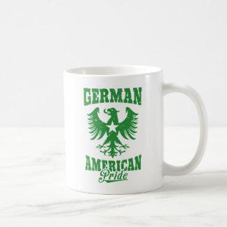 German American Eagle Emblem Coffee Mug