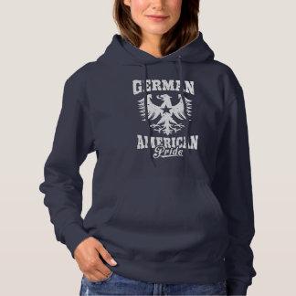 German American Eagle Symbol Hoodie